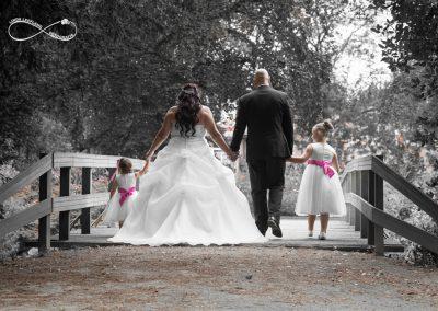 Huwelijk Elles en Patrick